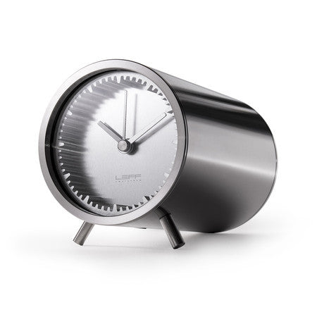Tube Series Clock - Steel - Coveted Gifts - 1
