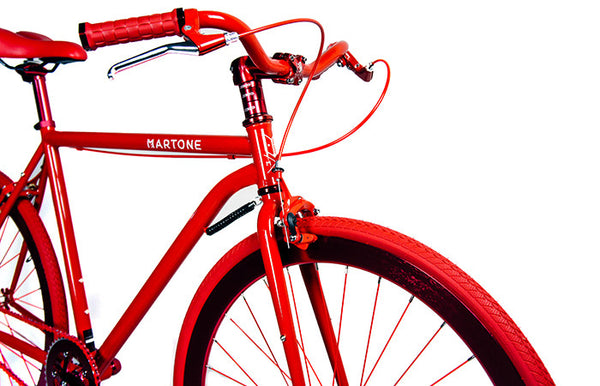 Martone Grammercy Mens's Bike Red - Coveted Gifts - 2
