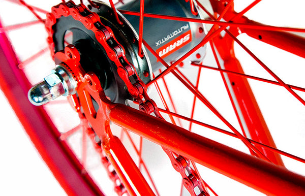 Martone Grammercy Mens's Bike Red - Coveted Gifts - 4