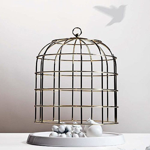 Twitable Gold Bird Cage - Coveted Gifts - 2