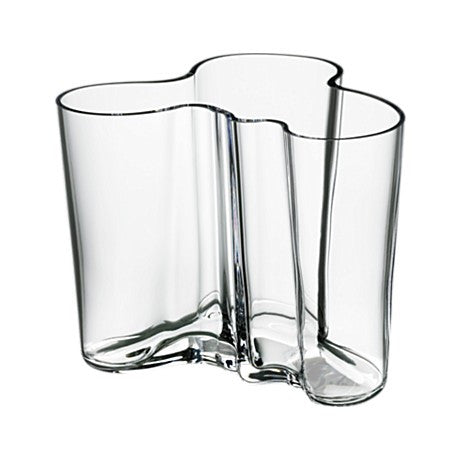 Alvar Aalto Savoy Vase, Clear - Coveted Gifts - 2
