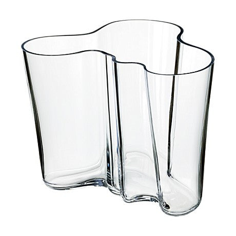 Alvar Aalto Savoy Vase, Clear - Coveted Gifts - 1