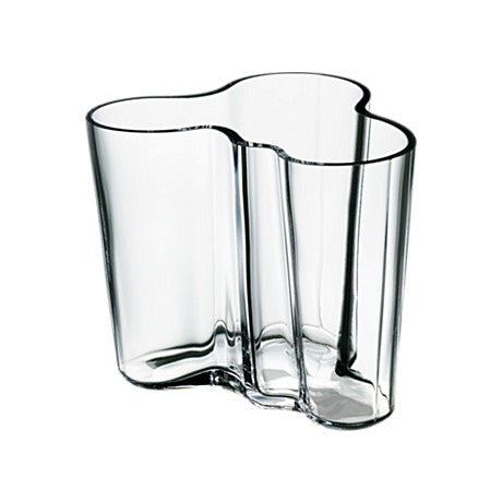 Alvar Aalto Savoy Vase, Clear - Coveted Gifts - 3