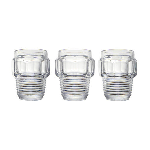 Machine Collection Drinking Glass Set, Small