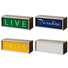 LED Lighthink Boxes, Small - Coveted Gifts - 1