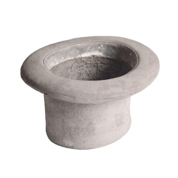 Chapeau Top Hat Vase | Object Holder, Concrete - Coveted Gifts - 1