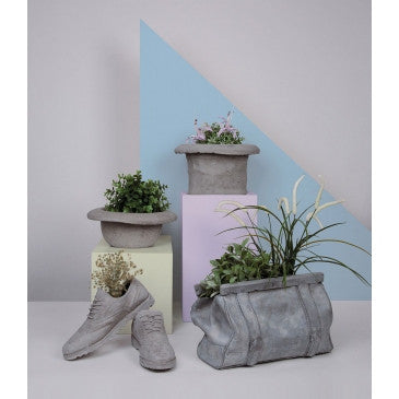 Sac Bag Vase | Magazine Rack, Concrete - Coveted Gifts - 4