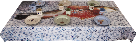 Fish Tablecloth - Coveted Gifts - 1