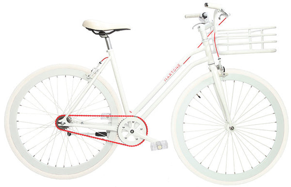 Martone Real Women's Bike White - Coveted Gifts - 1