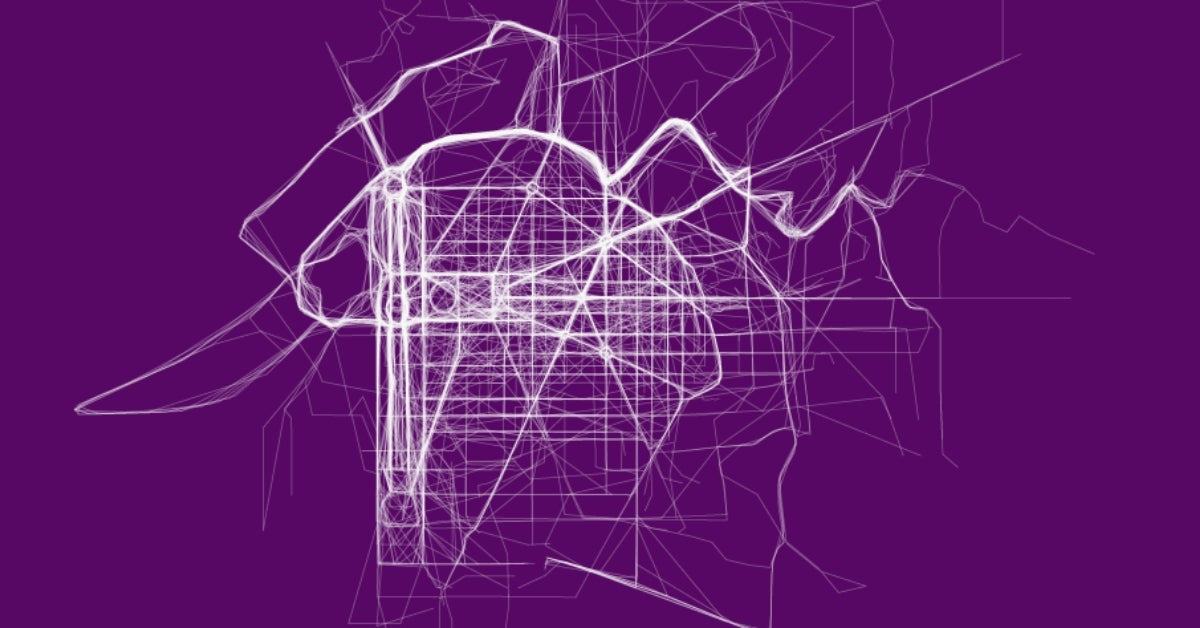 Running routes in the city