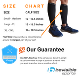 Calf Compression Sleeves - Black
