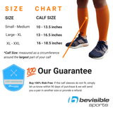 Calf Compression Sleeves - Orange