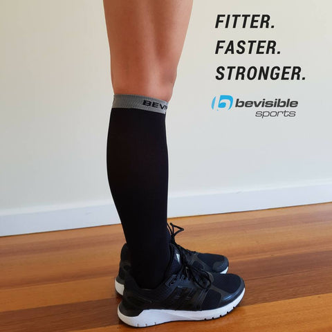 BeVisible Sports Ultimate Compression Socks - 20-30 MmHg