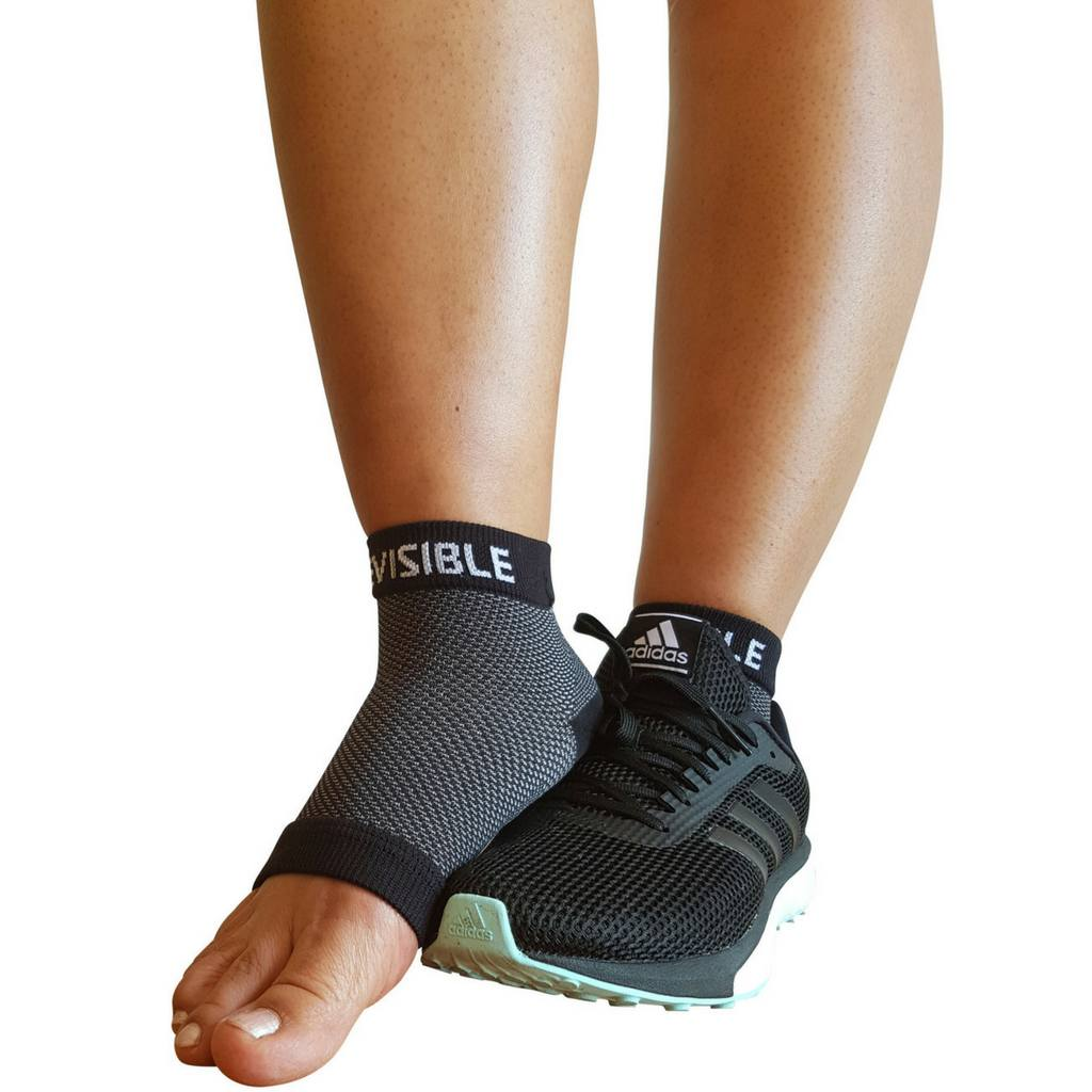Compression Foot Sleeves - Foot Compression Sleeves - Black