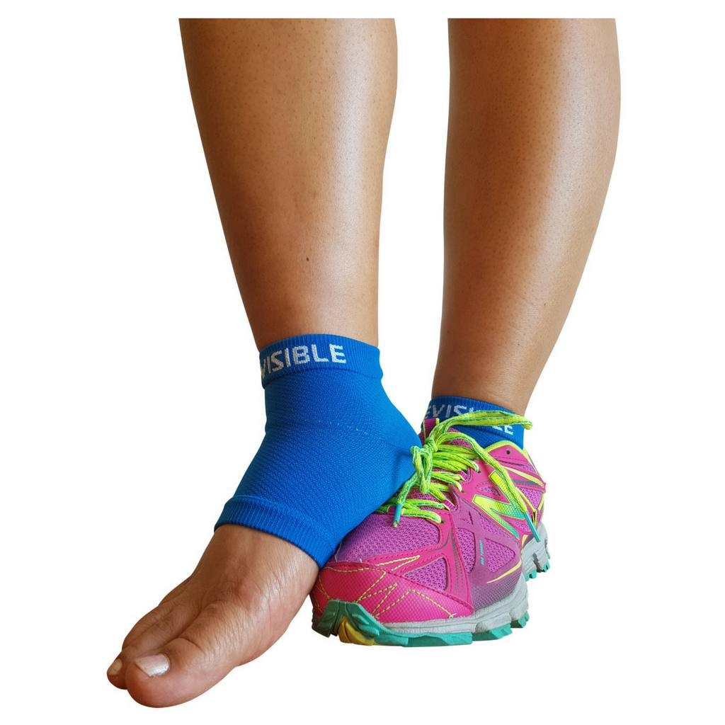99a7fd7032 Compression Foot Sleeves - Foot Compression Sleeves - Electric Blue ...