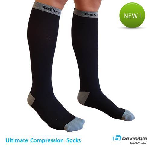 BeVisible Sports Ultimate Compression Socks
