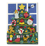 Melissa and Doug Christmas Tree Chunky Puzzle