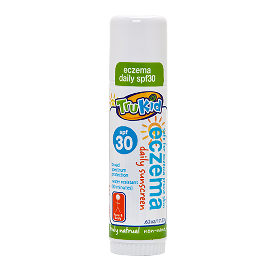 TruKid Eczema Daily SPF30+ Water Resistant Unscented Face & Body Stick