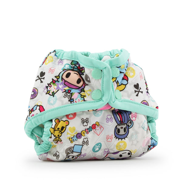 Rumparooz Newborn Cloth Diaper Cover - Snap- LIMITED EDITIONS- tokiBambino