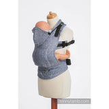 Lenny Lamb Wrap Conversion Ergonomic Carrier- Denim