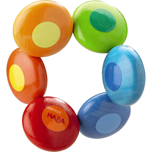 HABA Clutching Toy Rainbow Circles