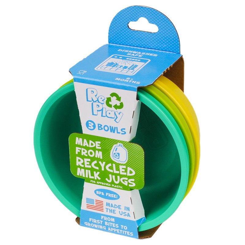 Re-Play Bowls- Packaged 3 pack