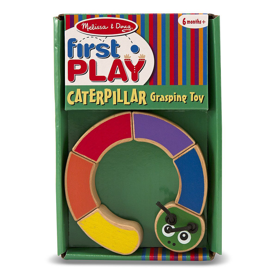 Melissa and Doug Caterpillar Grasping Toy