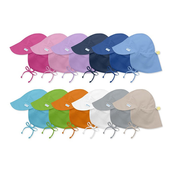 i play. Flap Sun Protection Hat- Solids