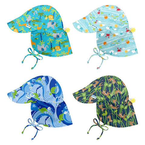 i play. Flap Sun Protection Hat- Prints