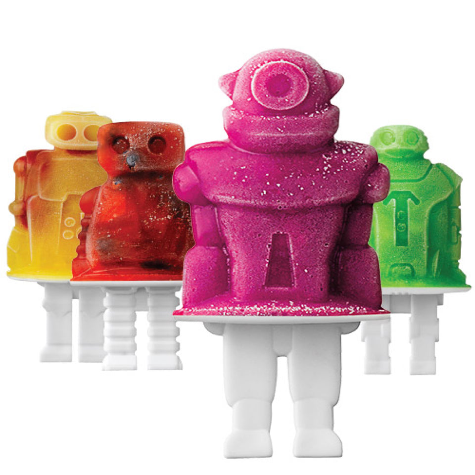 Tovolo Silicone Ice Pop Molds- Robots