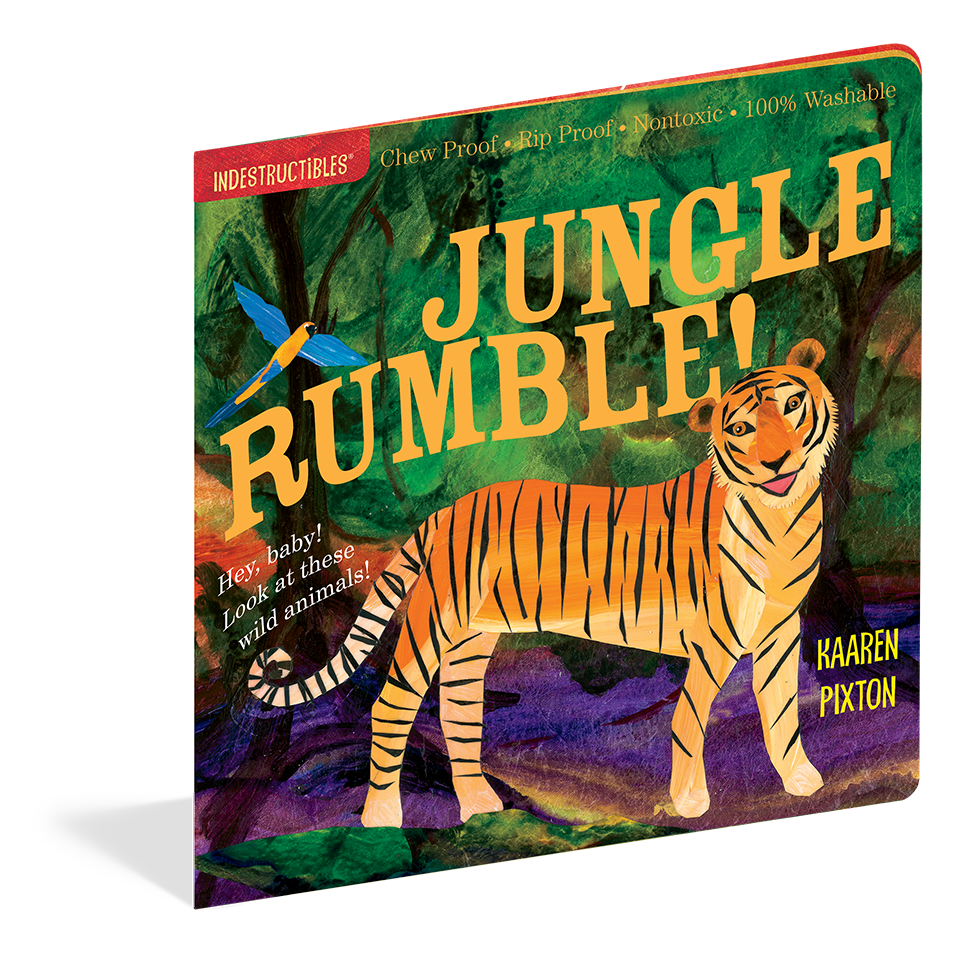 Indestructibles Books- Jungle Rumble!