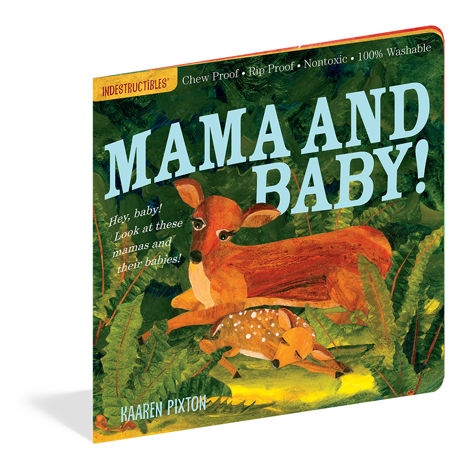 Indestructibles Books- Mama and Baby