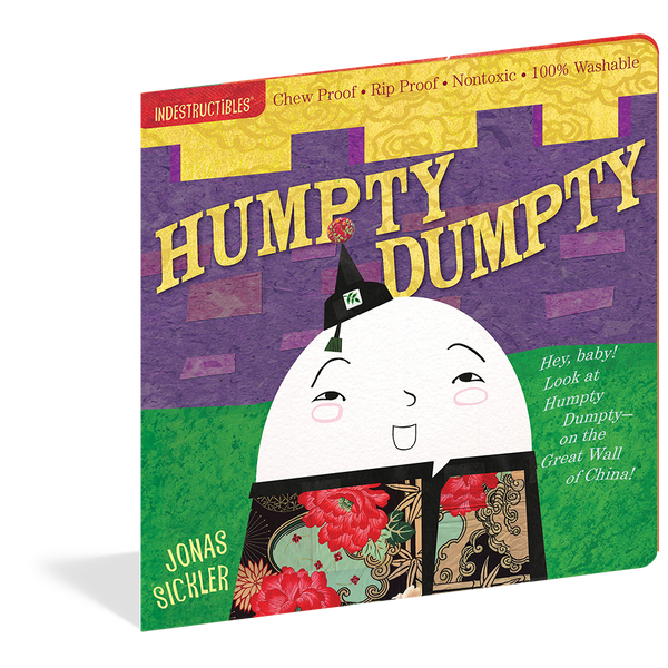 Indestructibles Books- Humpty Dumpty