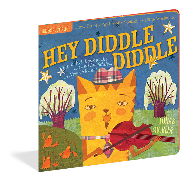 Indestructibles Books- Hey Diddle Diddle