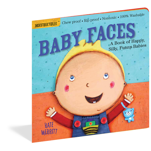 Indestructibles Books- Baby Faces
