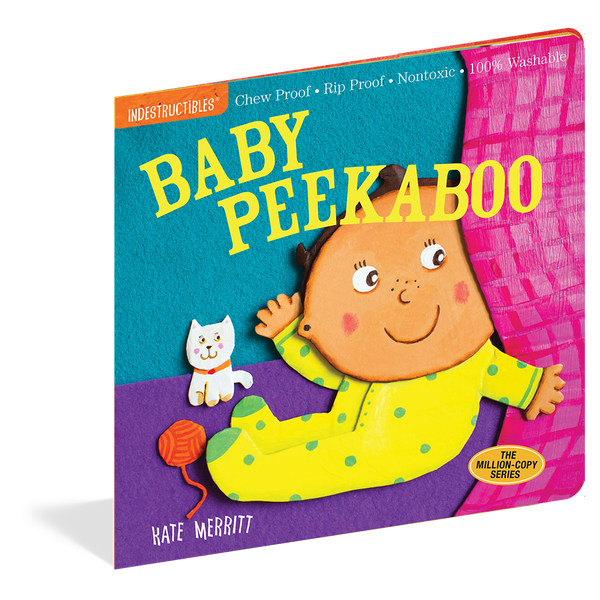 Indestructibles Books- Baby Peekaboo