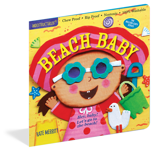 Indestructibles Books- Beach Baby