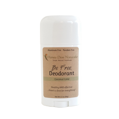 Honey Dew Naturals Be Free Deodorant