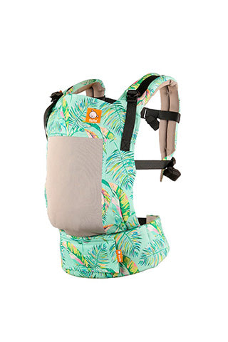Tula Ergonomic Carrier- Coast Electric Leaves