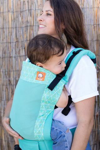 Tula Ergonomic Carrier- Coast Maze