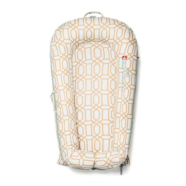 DockATot Deluxe Dock- COVER ONLY- Goldy Trellis