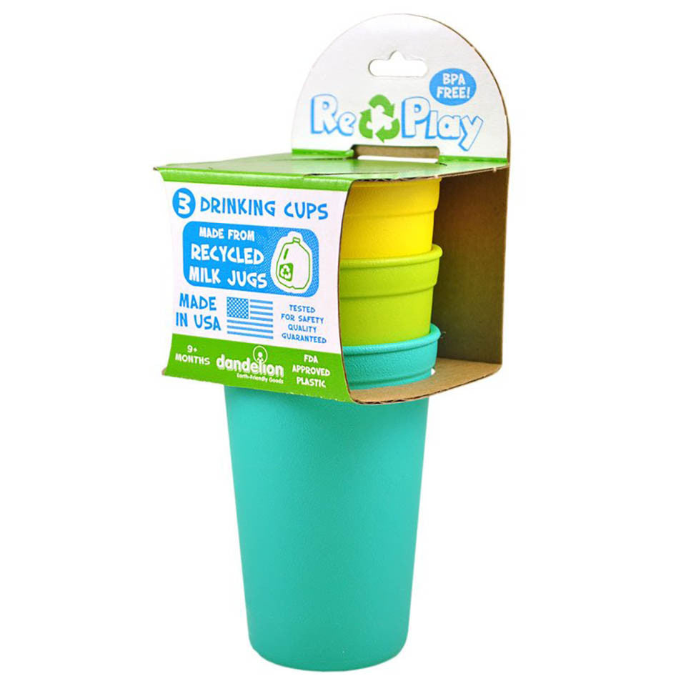 Re-Play Drinking Cups- Packaged 3 pack