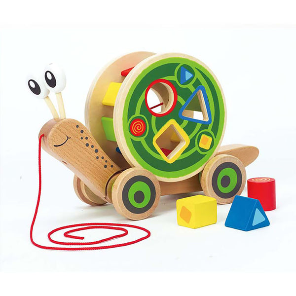 Hape Walk-A-Long Sorting Snail