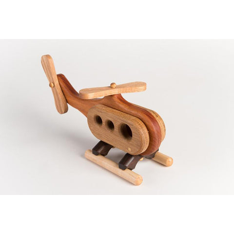 A Summer Afternoon Hardwood Wooden Toy- Helicopter
