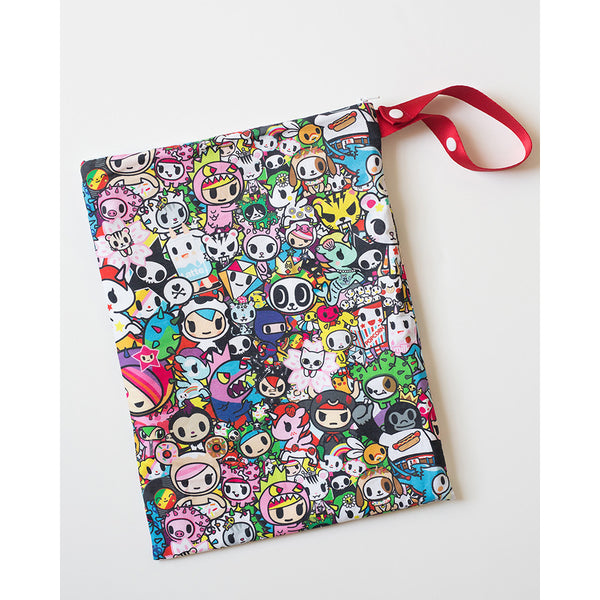 Itzy Ritzy x tokidoki Travel Happens Sealed Wet Bag with Handle