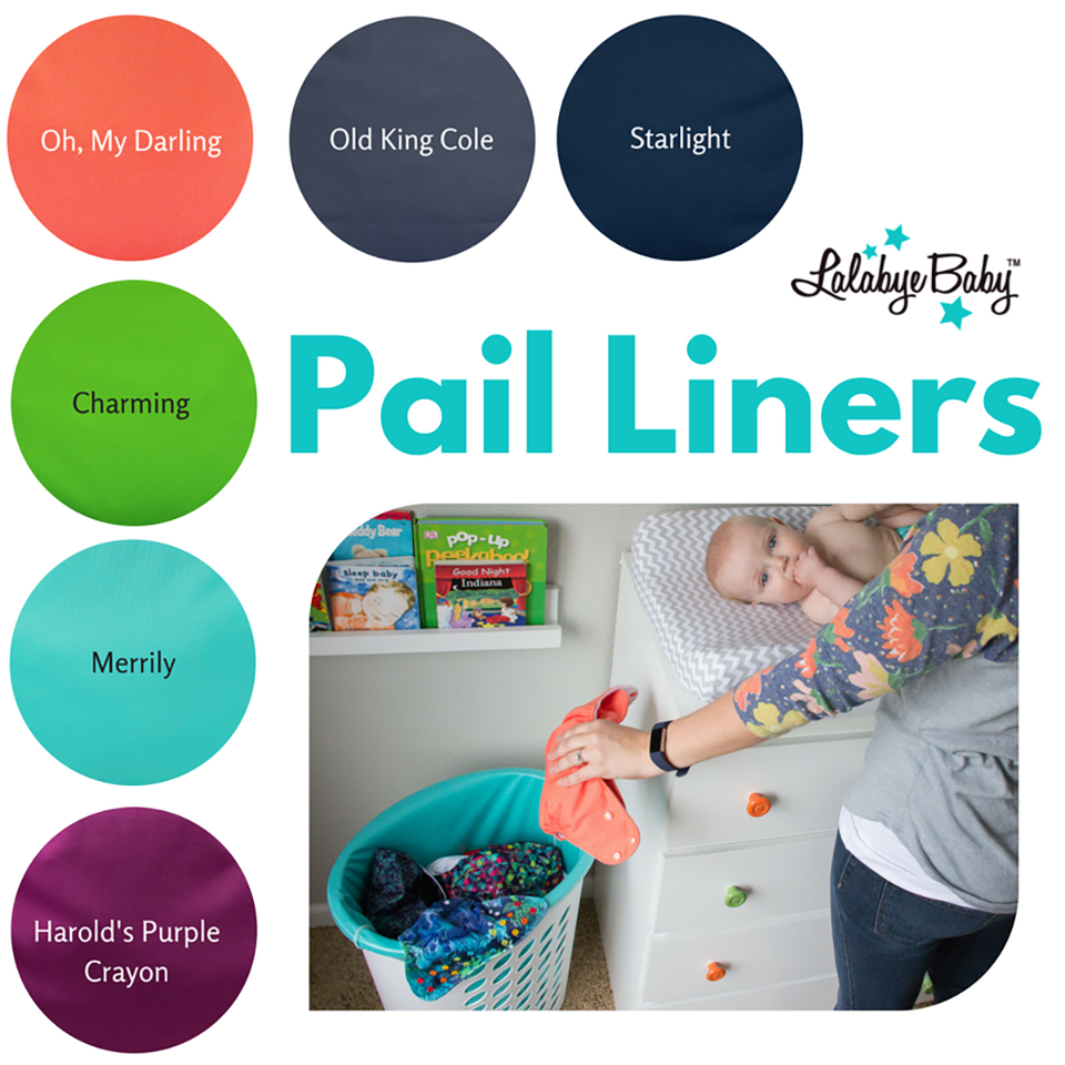 Lalabye Baby Pail Liners