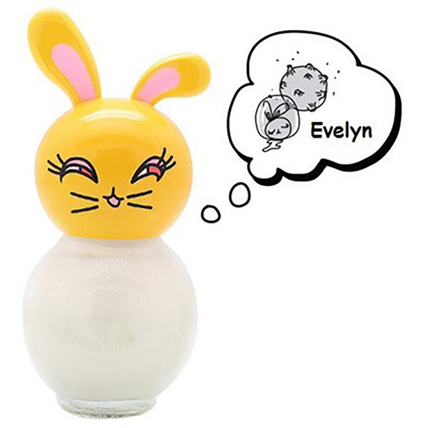 ShuShu Kids Nail Polish- White Evelyn
