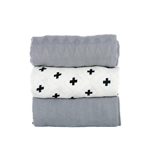Tula Blanket Set- Splatter Jet