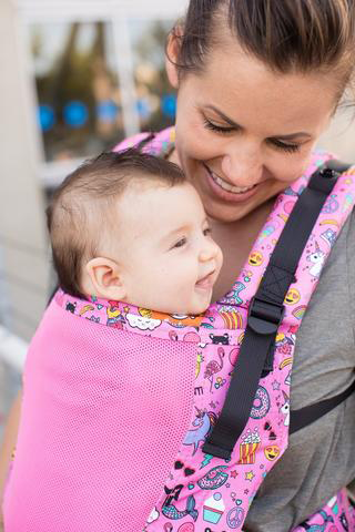 Tula Free-to-Grow Baby Carrier- Coast Stickers
