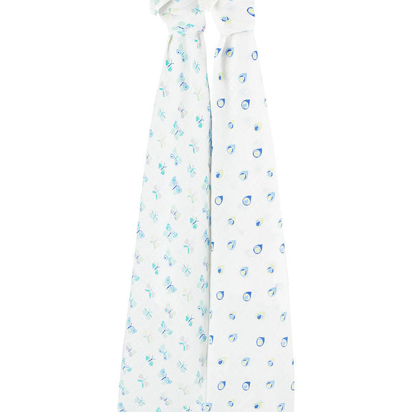 Aden + Anais Organic Swaddles 2-pack